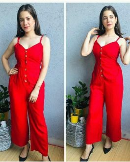 Fashionable and Trendy Jumpsuit