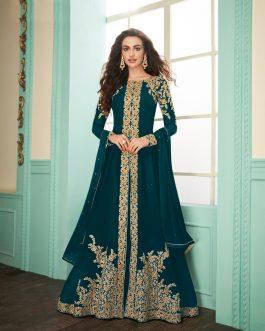 Beautiful Gulkand Almirah Dress