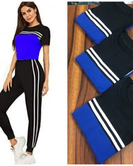 Stylish and comfortable track suit piece