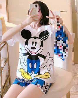 Cute Two Piece Nightwear
