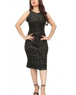 Gorgeous Shimmer Body Hugging Dress