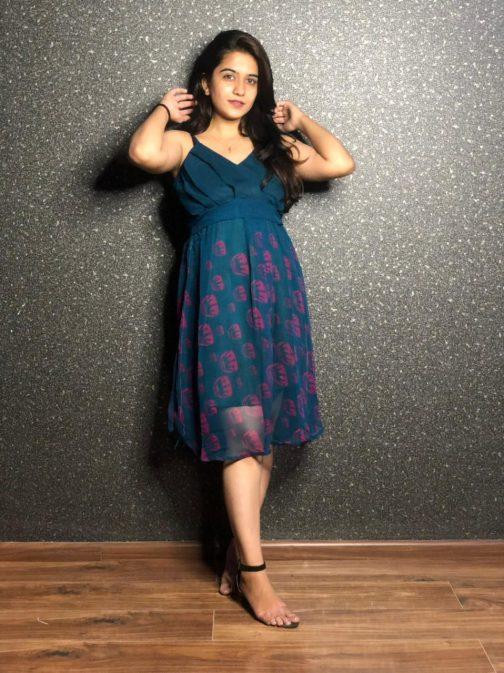 Elegant Short Dress For Women